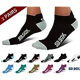 SB SOX Lite Plantar Fasciitis Socks for Men & Women (2 pairs)