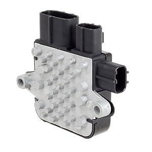 PartsSquare Cooling Fan Control Unit Module 1355S124 Replacement for Mazda 6 2003 2004 2005 2006 2007/Mazda MPV 2002 2003 2004 2005/Mitsubishi Lancer 2003 2004 2005 2006/Mitsubishi Outlander 2006