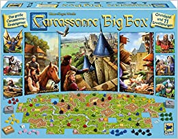 Carcassonne, Big Box 2017: Amazon.es: Libros en idiomas extranjeros