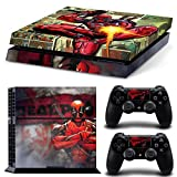FriendlyTomato PS4 Console and DualShock 4 Controller Skin Set – SuperHero – PlayStation 4 Vinyl