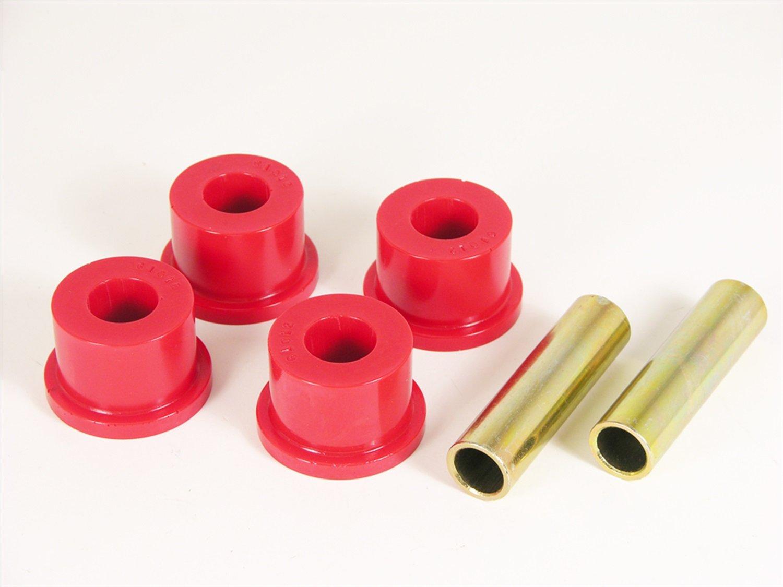 Prothane 1-804 Red Rear Frame Shackle Bushing Kit