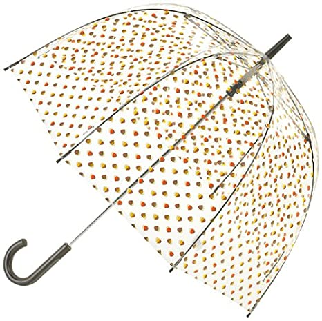 Orla Kiely by Fulton Paraguas, Shadow Elm Leaf (multicolor) - L746