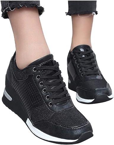 Amazon.com: ZBYY Walking Wedge Sneakers