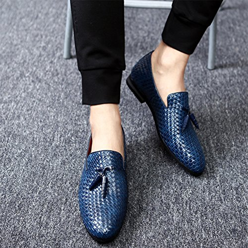 CMM On Casual Shoes Blue Loafers Slip Driving Penny Men's Outdoor Moccasins rtwgft