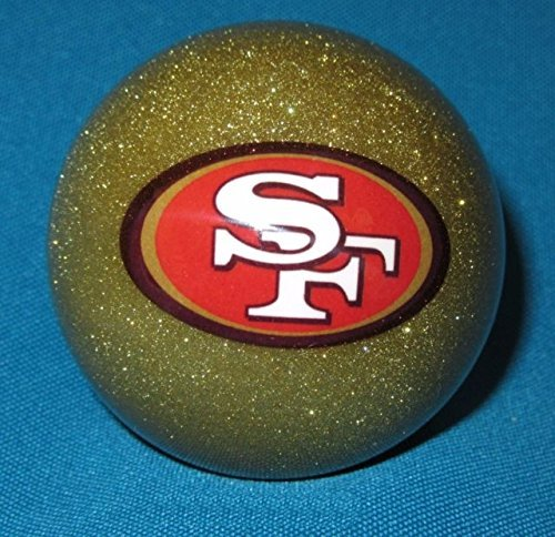 Gold Pool Cue - Officially Licensed San Francisco 49ers GOLD Billiard Pool Cue Ball