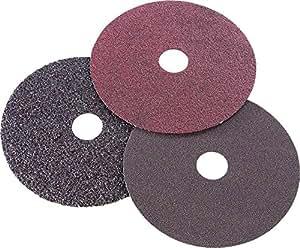 Firepower 1423-2171 Resin Fiber Sanding Discs/Hand Pads, 24-Grit, 7-Inch x 7/8-Inch, 3-Pack