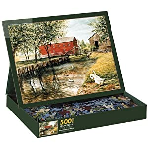 Reflections Of Spring 500 Piece Jigsaw Puzzle By Lang