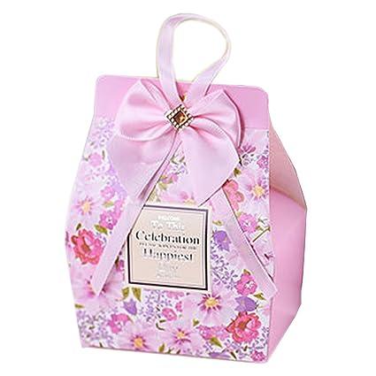 Amazon Com Autulet Classy Paper Gift Boxes Wedding Party Favor