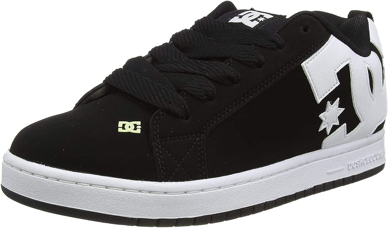 DC Men's Court Graffik Skate Shoe: Clothing