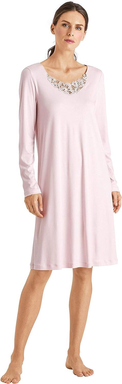 HANRO Women's Najuma Long Sleeve Gown