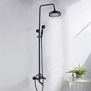 Onyzpily - Sistema de ducha con 3 funciones, incluye alcachofa de ...