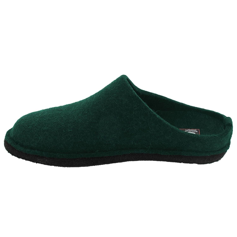 Haflinger Womens Flair Soft Fir Green Wool Felt Sandals 39 EU ZyCB4KjkyH