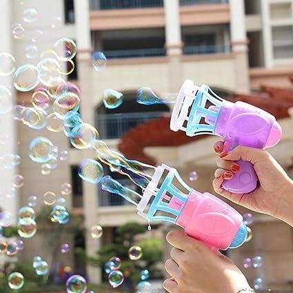 MoMo Honey Máquina de Burbujas, Mini soplador automático de ...