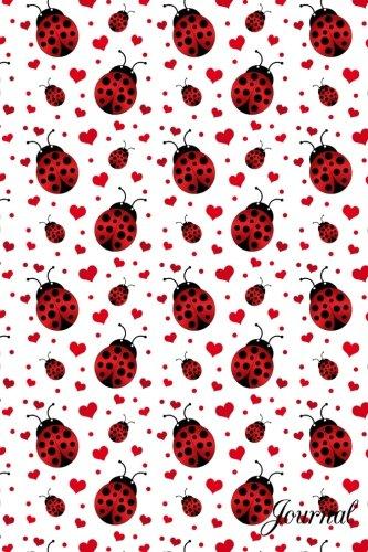 Journal: Ladybugs hearts notebook