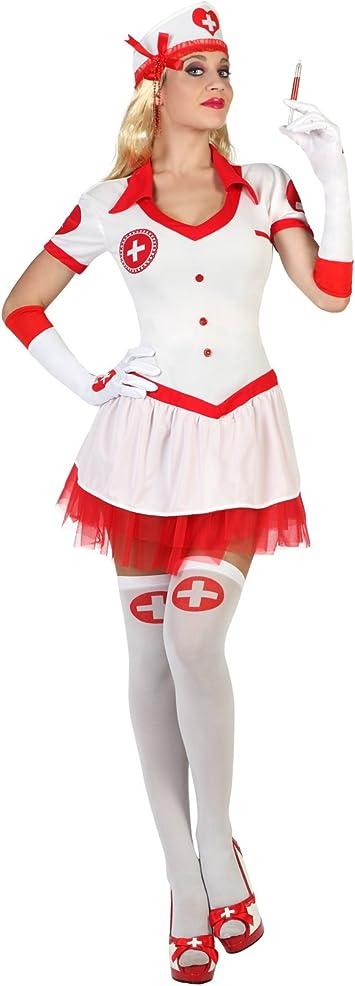 Atosa - 18299 - Disfraz - Disfraz En Enfermera - Adulto - Tamaño 2 ...