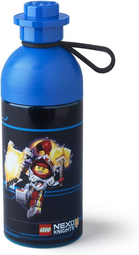 LEGO Nexo Knights Hydration Bottle 0.5L Transparent Blue