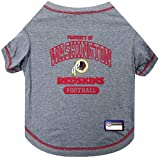 Pets First Washington Redskins T-Shirt, Large