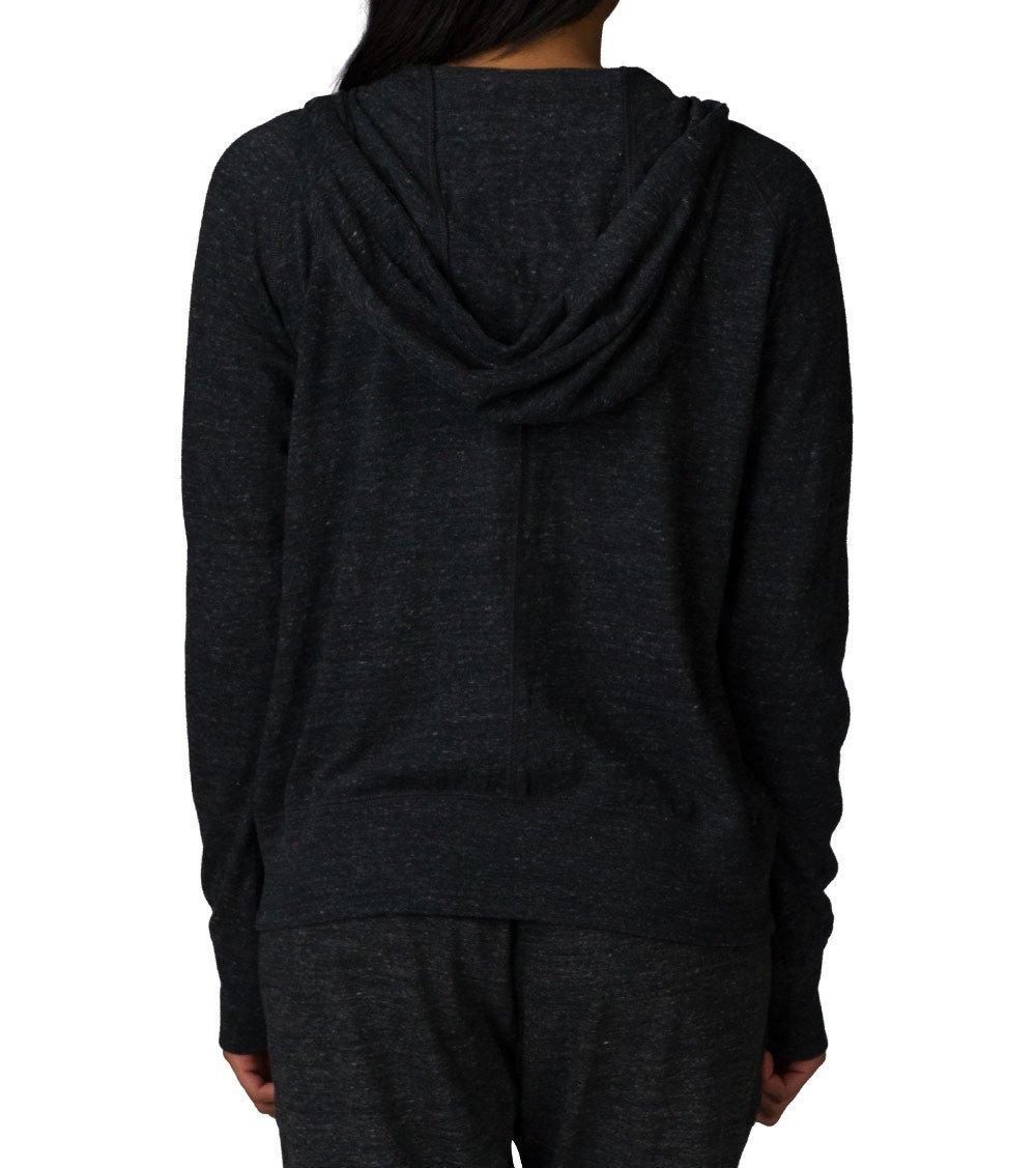 NIKE Women's Sportswear Gym Vintage Hoodie Black/Sail Size Medium
