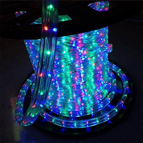 Tubo led multicolore per natale strange things for Luci a led esterno
