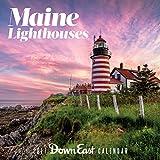 2017 Maine Lighthouse Down East Wall Calendar