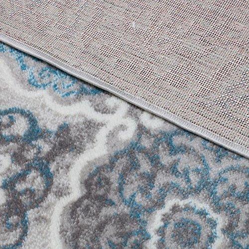 Home Dynamix Boho Andorra 5'2'' x7'2 Area Rug Gray/Blue by Home Dynamix (Image #6)