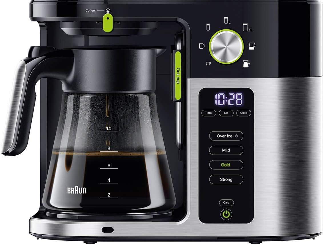 Braun Household Braun MultiServe KF 9050 - Cafetera de goteo con ...