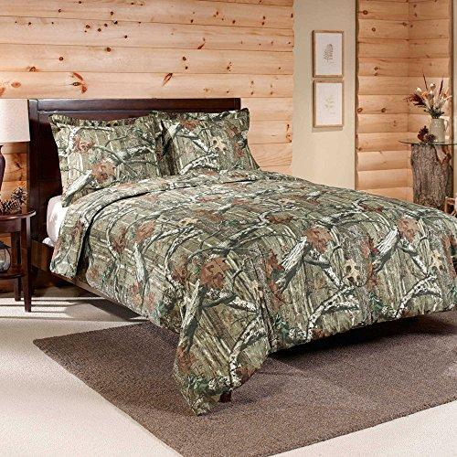 Deere Sham John - Mossy Oak Break Up Infinity Camouflage Comforter Set - King