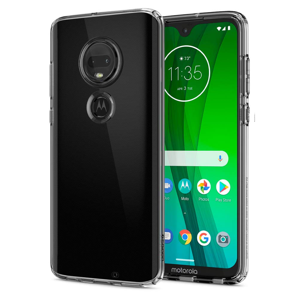 Funda Spigen Moto G7/g7 Plus [crystal Clear] Liquid Crystal