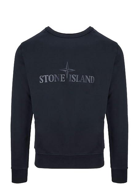 negozio online 9399d 8cd71 Stone Island - Felpa - Uomo Blu S: Amazon.it: Abbigliamento