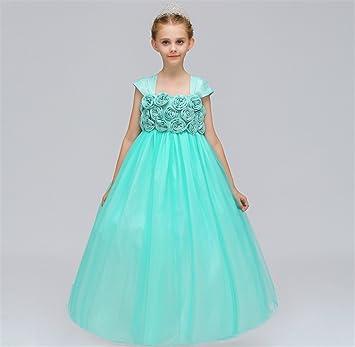 Niña De Las Flores Vestir Lindo Diseño Fiesta Dama De Honor Vestido De Niños Boda Princesa