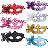 10pcs Set Butterfly Half Venetian Masquerade Ball Masks Party Costume Accessory