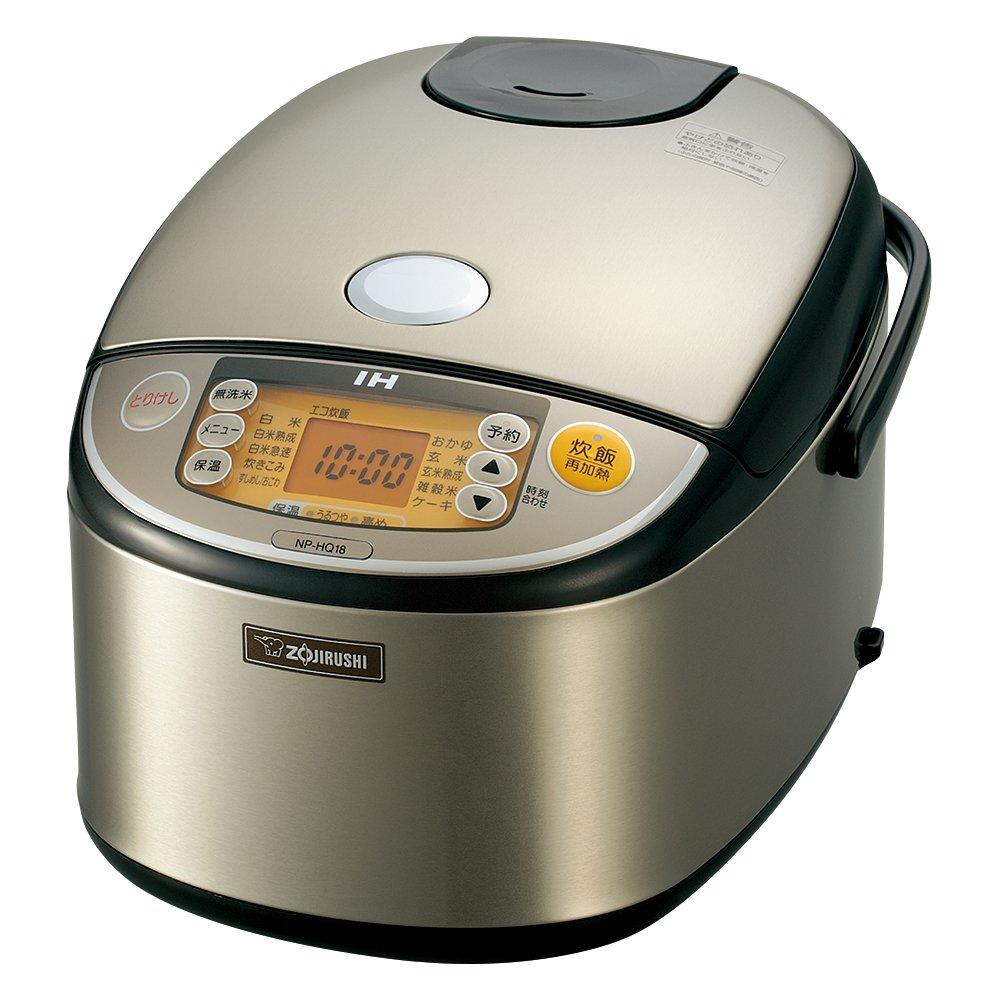 象印 NP-HQ18-XA 炊飯器 IH式 IH式 1升 ステンレス NP-HQ18-XA 1升(5人以上) 1升(5人以上) B00L7CN41M, アルスデンキ:fb14a09c --- lembahbougenville.com