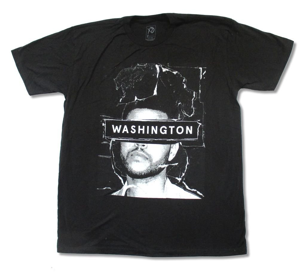 The Weeknd Washington 2015 Event S T Shirt 2344