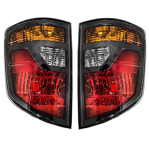 Driver and Passenger Taillights Tail Lamps Replacement for Honda Pickup Truck 33551SJCA01 33501SJCA01 AutoAndArt