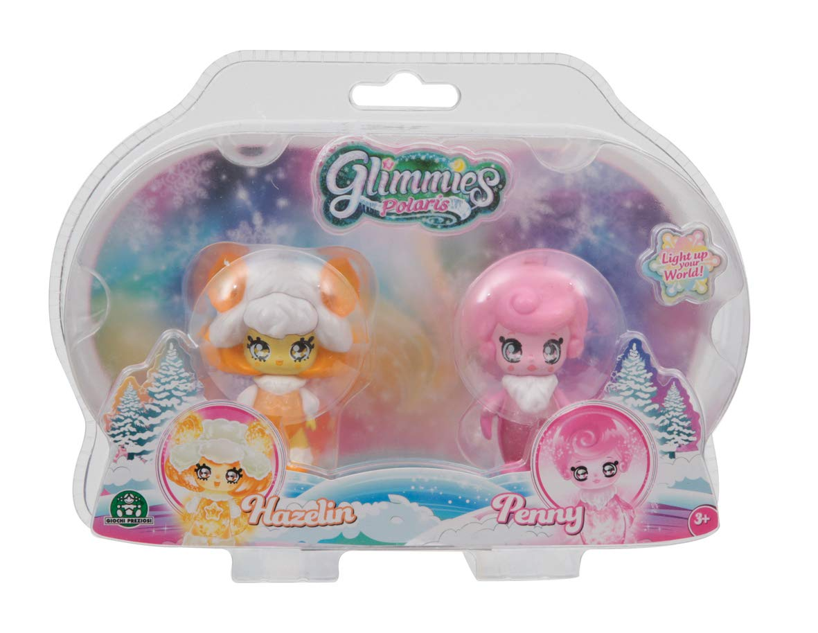 Glimmies GLP01000/Polaris Twin Pack assortimento Bambola