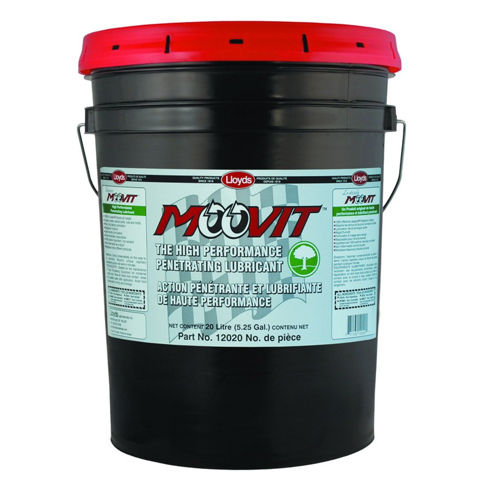 Moovit - High Performance Penetrating Lubricant, 12020, 20 L pail (5.25 gal)