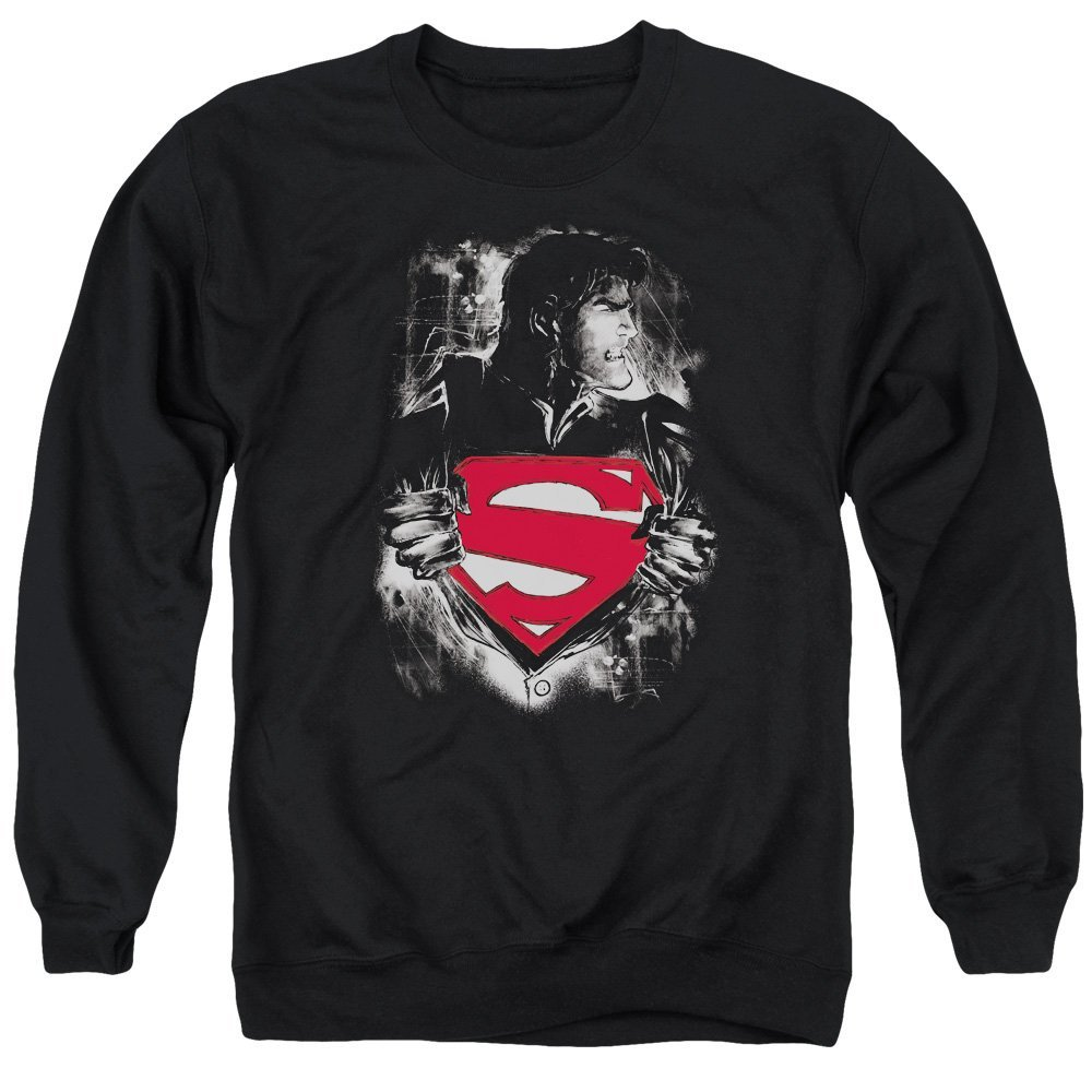 Superman Darkest Hour Adult Crewneck Sweatshirt