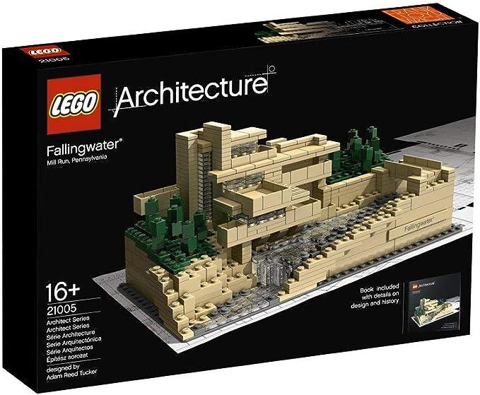 LEGO Architecture Fallingwater 815pieza(s) - Juegos de construcción (Multi): Amazon.es: Juguetes y juegos