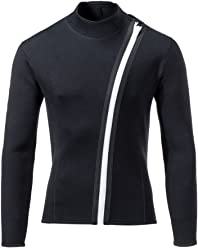 divecica Man 3mm Wetsuits Jacket Long Sleeve Neoprene Wetsuits Top 329f2dadb