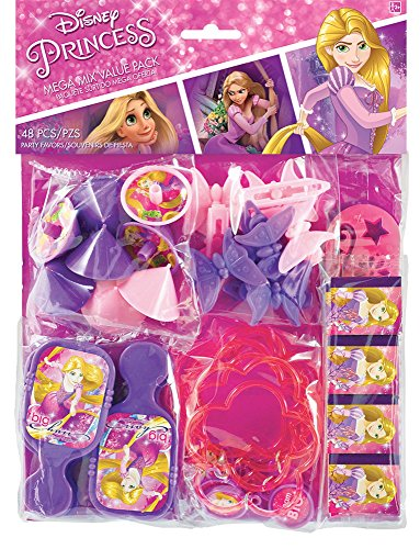 Amscan Mega Mix Favor | Disney Rapunzel Dream Big Collection | Party Accessory]()