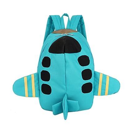 WINGMO 3D Avión Mochilas infantiles, Unisex Baby Boys Niñas ...