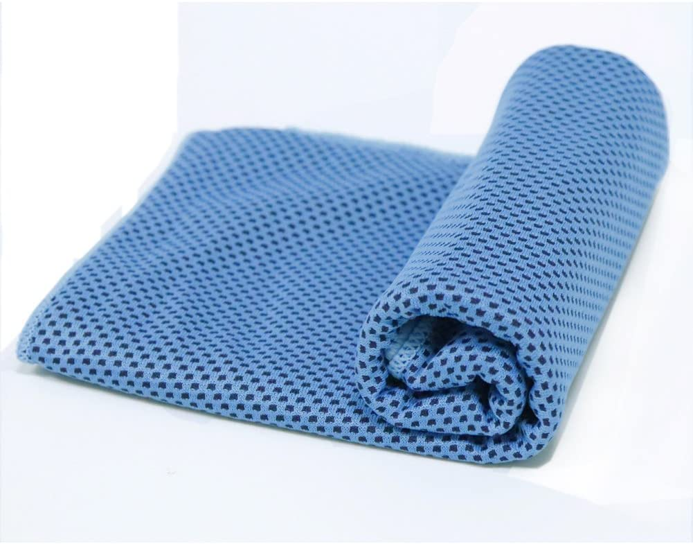 HONRIYA Cooling Towel with Instant Cooling Relief,Neck Wrap Scarf for Sports Travel