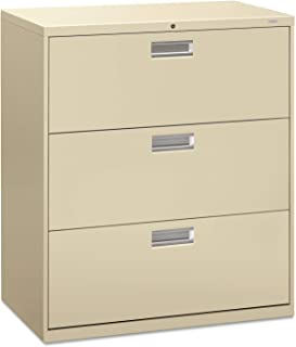 product image for HON Brigade 600 Series 3 Drawer Lateral Legal or Letter File Cabinet in Putty