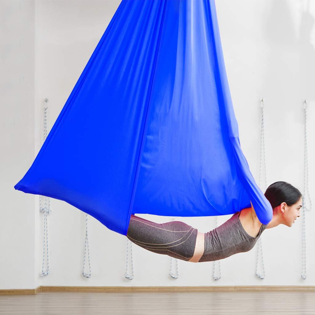 Yoga-Bett, Aerial Yoga Hängematte, geeignet für Yoga-Enthusiasten, Outdoor-Yoga und Freizeit-Haus, entspannende Eltern-Kind-Unterhaltung, etc.7 Meter Geeignet für Höhen von 3,6 Meter bis 4,2 Meter.