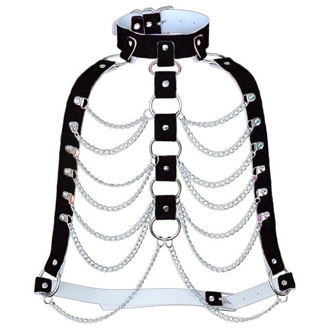 Fascigirl Fashion Punk Style Body Chain Bra Sujetador De ArnéS ...