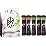 Pique Tea - Premium Instant Tea Crystals - Variety Pack - USDA Organic - Unsweetened Tea Powder - No Sugar, No Preservatives, No Artificial Flavoring - 14 Servings - Enjoy Hot or Iced