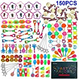 Amy&Benton 150PCS Party Favors Toy Assortment for Kids, Carnival Prizes and School Classroom Rewards, Pinata Filler Toys for Kids Birthday Party, Bulk Toys Treasure Box for Boys and Girls