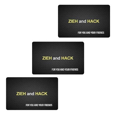 M&M Smartek ZIEH and Hack Design - Tarjeta con Cierre de ...