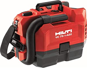22-Volt VC 75-1-A22 1 Gal. 75 CFM Lithium-Ion Cordless Vacuum with Dry and HEPA Filter. Battery not Included