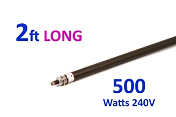 """Wet Heating Element  Bend-To-Shape 8mm Rod 48/"""" 4ft 1000W 1KW Universal Dry"""